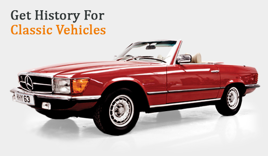 Get History for Classic Vehicles